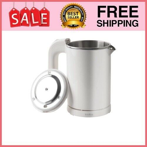 0.5L Portable Electric Kettle, Mini Travel Kettle, Stainless Steel Water