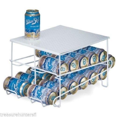 Soda can dispenser kitchen storage organization ebay - Dispensador de latas ...