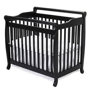 RARE FIND: Emily Mini Crib with mattress and linens