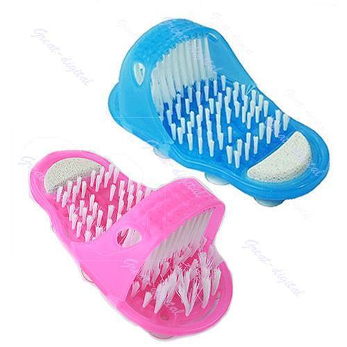 Foot Brush Scrubber Feet Massage Bath Blossom Scrub