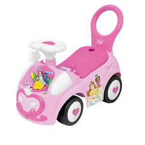 Disney princess ride on car & Little Tikes basketball hoop large