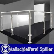 Geländer Glas