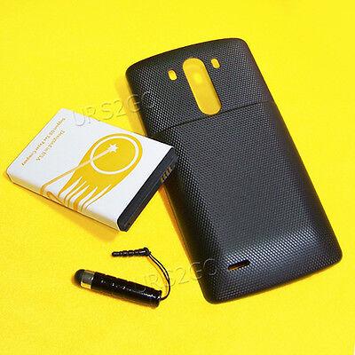 High Capacity Battery Door - High Capacity 10100mAh Extended Battery Door Cover Stylus for Net10 LG G3 4G LTE