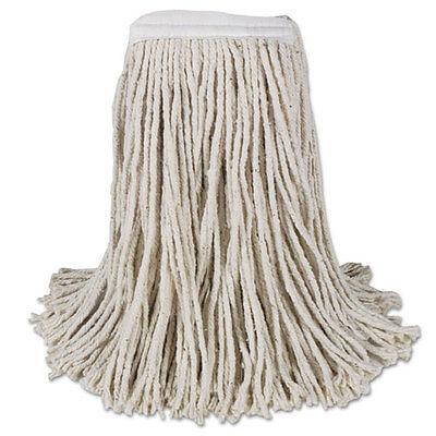Boardwalk Mop Head Cotton Cut-End White 4-Ply #16 Band 12/Carton CM02016S
