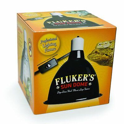 Fluker Lighting - Fluker'S Sun Dome Reptile Lamp - Large Deep Dome Fixture