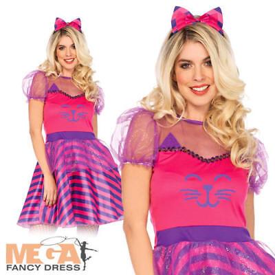 Cheshire Cat Ladies Fancy Dress Wonderland By Leg Avenue Adults Womens Costume