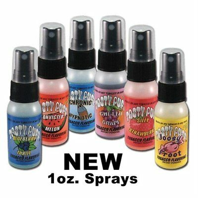 Tasty Puff Tobacco   Herb Flavoring 1 Oz Spray Bottles   Choose From 32 Flavors