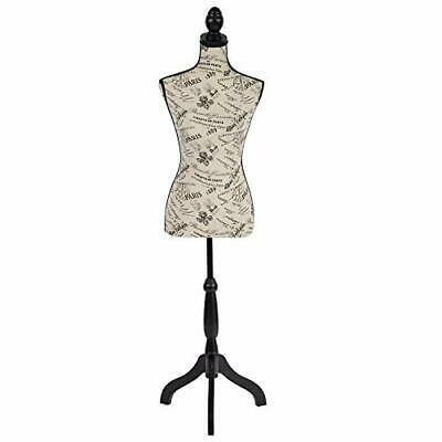 Dress Form Mannequin Torso Body Female Maniquins Sewing Forms Adjustable Stand