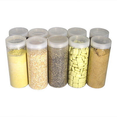 [ Silicook ] A set of 10 Fridge Food Storage Containers- Cylinder Eset