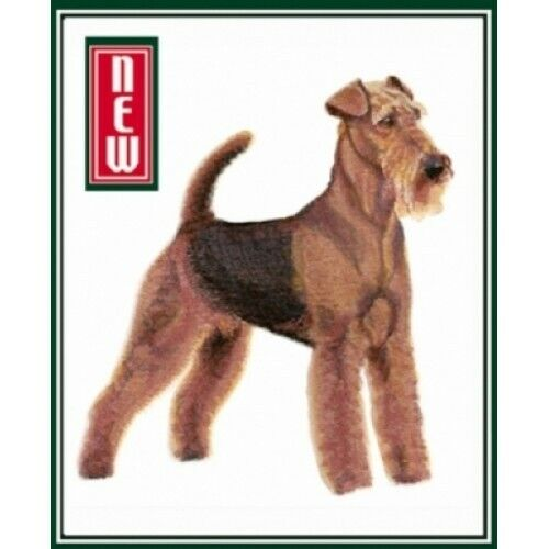 Embroidered Ladies Fleece Jacket - Airedale Terrier BT7061 Sizes S - XXL