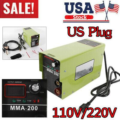 110v Mma-200 Portable Mma Arc Welder Igbt Welding Machine Soldering Inverter