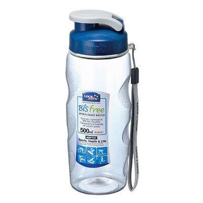Handy Water Bottle 500ml Lock&Lock BPA free Outdoor Sports Health Bicycle Grip