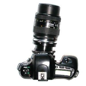 NIKON-raccordo-BASCULANTE-ROTANTE-APO-obiettivi-Nikon-tilt-lens-adapter-4000