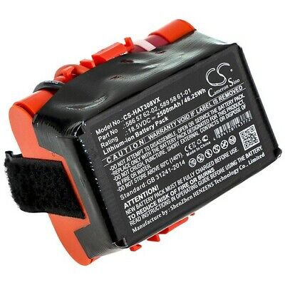 Battery For HUSQVARNA 586 57 62-02 2500mAh