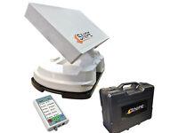 Avtex Selfsat Snipe fully automatic Satelite Antenna AutoSkew