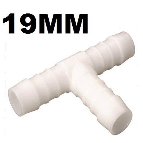 WATER HOSE CONNECTOR (T) 3/4 (19mm) CARAVAN CAMPING MOTORHOME GARDEN