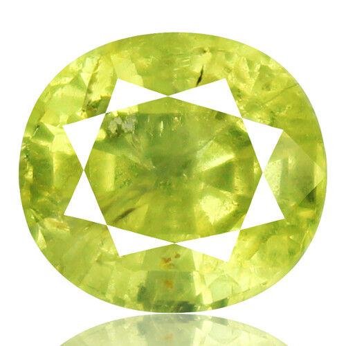 Tsavorite Family Garnet 5.75ct yellowish green color 100% natural earth mined