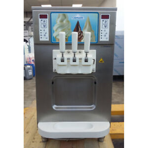 CARPIGIANI 2 FLAVOR N TWIST 1PH YOGURT ICE CREAM MACHINE, WATER
