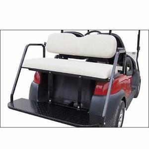 GOLF CART Accessories ~ Standard Flip Rear Seat Kit FREE SHIPPING!