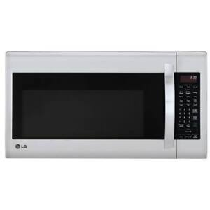 LG Over-The-Range Microwave - 2.0 Cu. Ft. - Stainless Steel DEMO