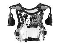 New 2016 Youth Thor Quadrant Body Armour Motocross Enduro Black/Clear