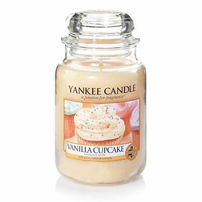 Yankee Candle Candela profumata in giara grande | Cupcake alla vaniglia |