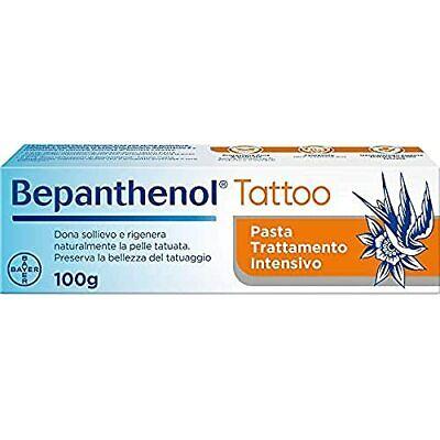 Bepanthenol Tattoo Crema per Tatuaggi con Pantenolo 5%Profumi e Coloranti, 100 g