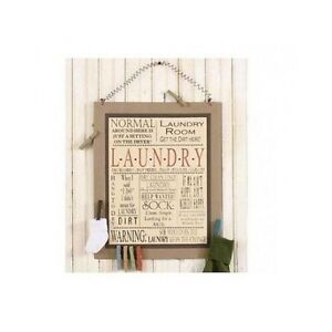 Laundry Room Signs Wall Decor Rustic Country Board Wood