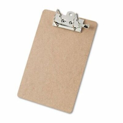 Saunders Arch Clipboard 2 Capacity Holds 8-12w X 12h Brown Sau05712