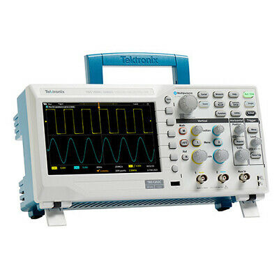 New Tektronix Tbs1052c 50mhz Oscilloscope Dso 1gss 2 Channel Nist Calibrated