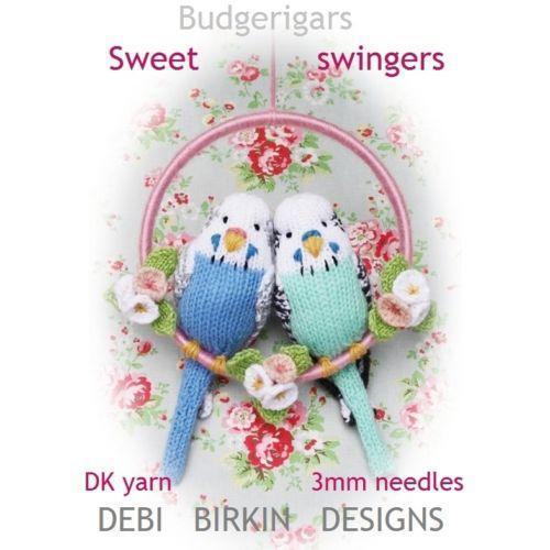 Bird Knitting Pattern Ebay