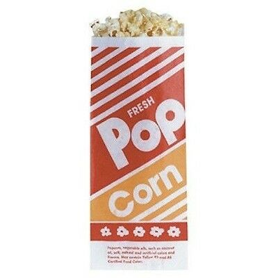 Gold Medal Popcorn Paper Bags 1 Oz - 100 Count