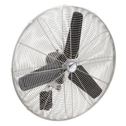 Wall Mount Fan 30 Inch Oscillating High Velocity 3 Speed 480