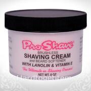 Brushless Shaving Cream