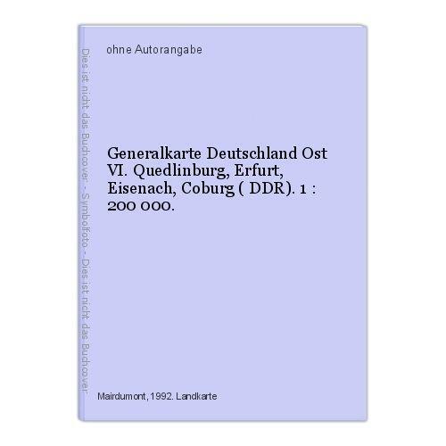 generalkarte deutschland b cher ebay. Black Bedroom Furniture Sets. Home Design Ideas