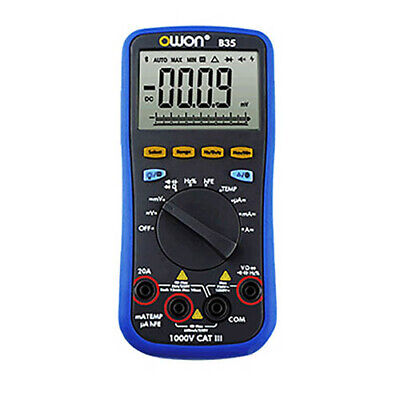 Owon B35t Digital Multimeter With Bluetooth True Rms