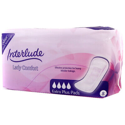 Interlude Incontinence Pads - Extra Plus - Case