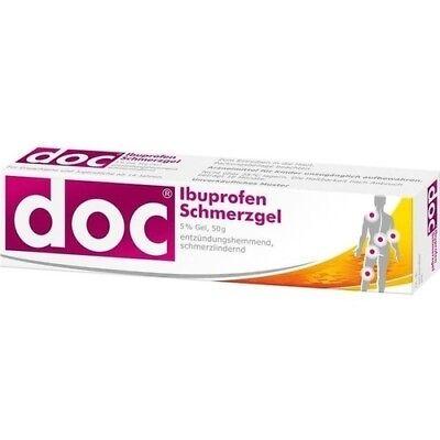 DOC IBUPROFEN Schmerzgel 5% 50 g HERMES Arzneimittel GmbH - Schmerzmittel