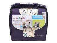 Munchkin travel booster seat purple