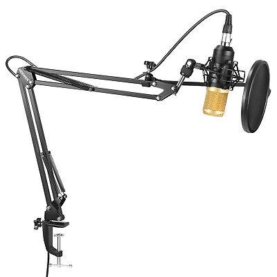 Neewer Microfono a Condensatore NW-8000 con Asta di Sospensione Anti-vibrazione