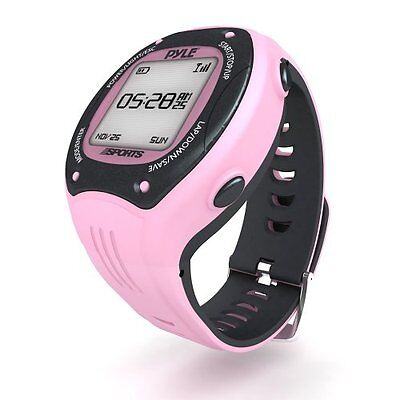 Pyle GPS Smart Watch Heart Rate, Speed, RPM, Distance, Power Meters and Sensors