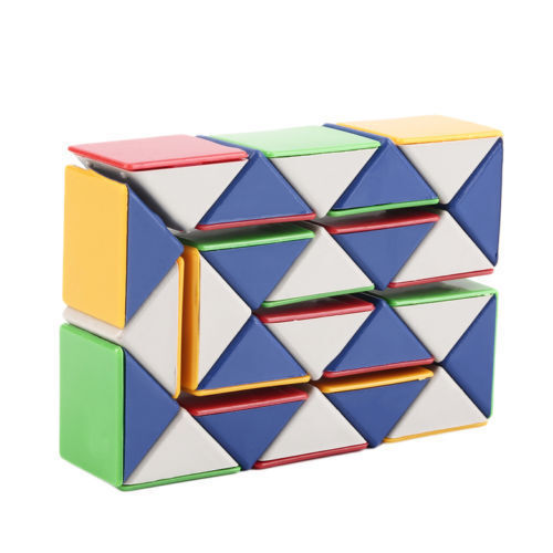 Snake Magic 3D Cube Game Puzzle Twist Toy Party Travel Family Child Gift HC