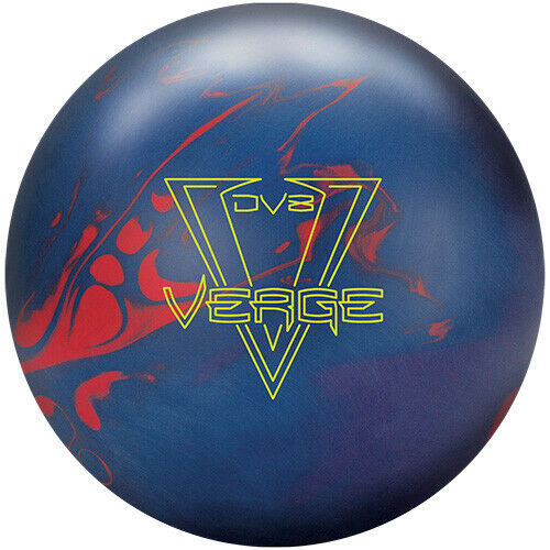 New DV8 Verge Bowling Ball | 1st Quality 15#3oz Top 2.3oz Pin 3-4""