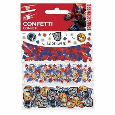 Transformers Geburtstagsparty Tisch Dekoration Sprinkle Konfetti ()