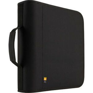 Case Logic 208-Disc CD / DVD Binder (Black)