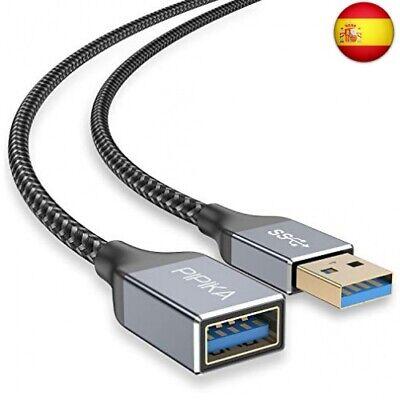PIPIKA Cable Alargador USB 3.0 [3M], Cable Extension USB 3.0 Tipo A...