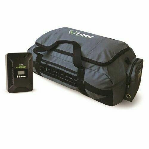 HME OZNBAG Scent Slammer Odor Eliminator Hunting Ozone Air Purifier + Duffel Bag