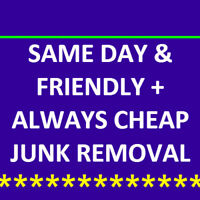 50% off JUNK REMOVAL in Brampton / Mississauga = 4162381720