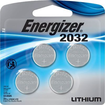 Cr2032 Pack (Energizer Batteries CR2032 240 mAh 3V Lithium Coin Cell  - 4-Pack )