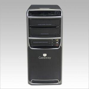 Gateway Dual Core Desktop Computer 4 GB Ram 360 GB HDD Win 7